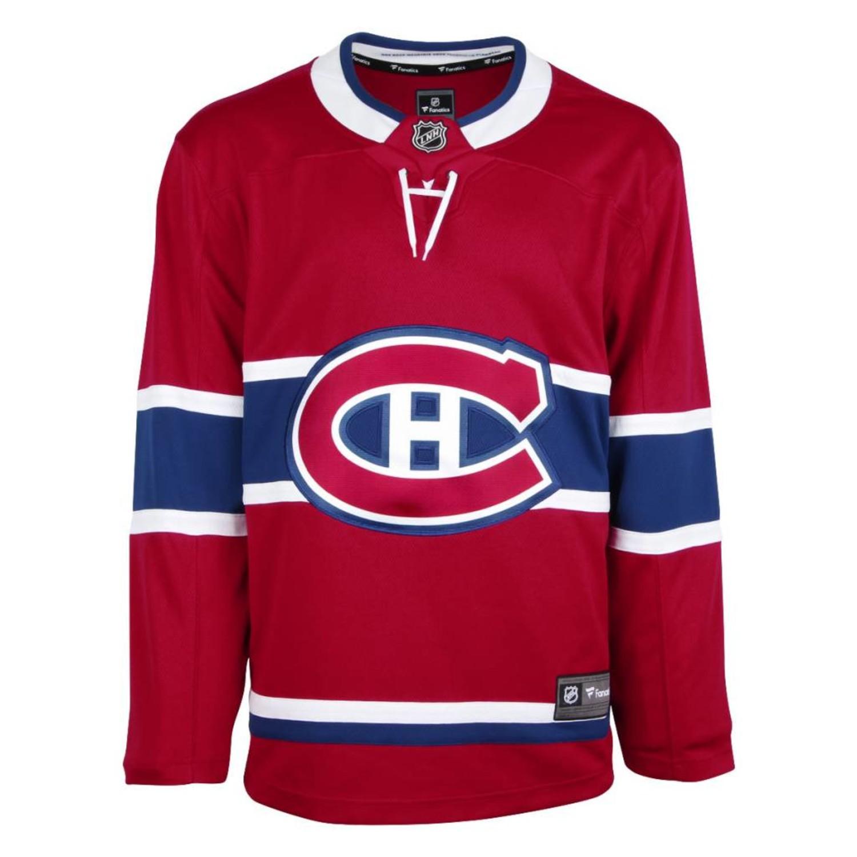 Chandail Replique Fanatics Canadiens De Montreal Tricolore Sports Club De Hockey Des Canadiens