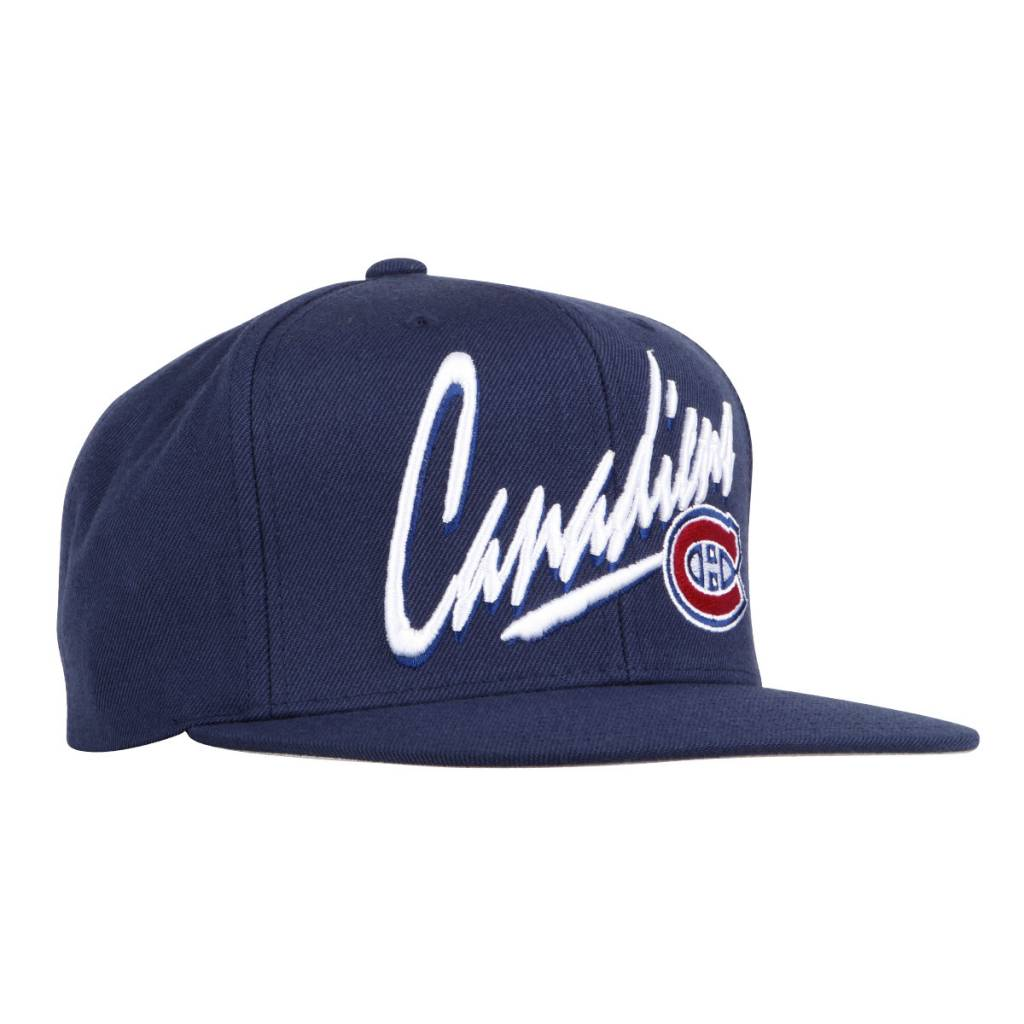 bbed760d92 Mitchell   Ness Vice Script Hat - Tricolore Sports