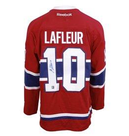 Club De Hockey Jersey Signed By Guy Lafleur
