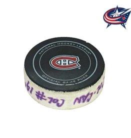 Club De Hockey RYAN JOHANSEN GOAL PUCK (1) 17-OCT-2013