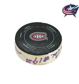 Club De Hockey Ryan Johansen Goal Puck (27) 20-Mar-2014
