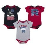 Outerstuff Baby 3 Pack Rocket Pyjama