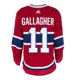 Club De Hockey 2017-2018 #11 Brendan Gallagher Home Set 1 Game-Used Jersey