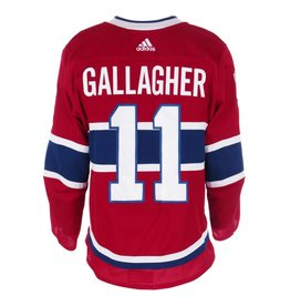 Club De Hockey Chandail porté 2017-2018 #11 brendan gallagher série 1 àdomicile