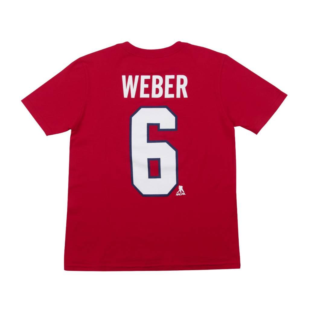 Outerstuff T-SHIRT JOUEUR JUNIOR #6 SHEA WEBER