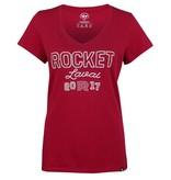 47' Brand T-shirt femme point de chanette rocket