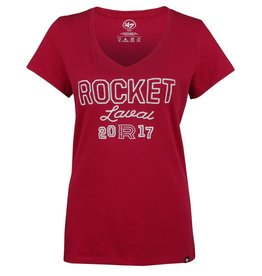 47' Brand T-shirt femme point de chaïnette rocket