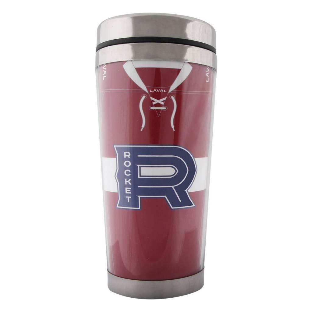 Mustang Travel mug jersey rouge rocket