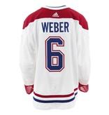 Club De Hockey Chandail porté 2017-2018 #6 Shea Weber série 3 à l'étranger (chandail préparé)