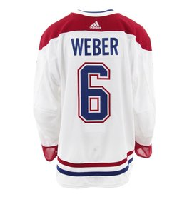 Club De Hockey 2017-2018 #6 SHEA WEBER AWAY SET 3 GAME-USED JERSEY (GAME-ISSUED)