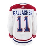 Club De Hockey 2017-2018 Brendan Gallagher Away Set 3 Game-Used Jersey
