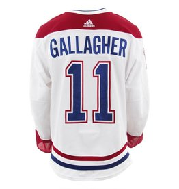 2017-2018 Brendan Gallagher Away Set 2 Game-Used Jersey eb3981cabc4