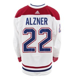 Club De Hockey 2017-2018 #22 Karl Alzner Away Set 3 Game-Used Jersey