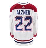 Club De Hockey 2017-2018 #22 Karl Alzner Away Set 2 Game-Used Jersey