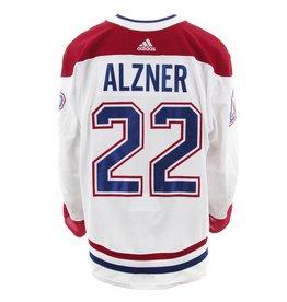 Club De Hockey Chandail porté 2017-2018 #22 karl alzner série 2 àl'étranger