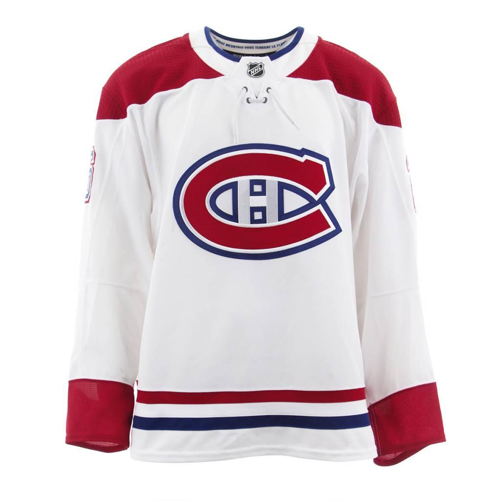 Club De Hockey Chandail porté 2017-2018 #26 jeff petry série 3 àl'étranger