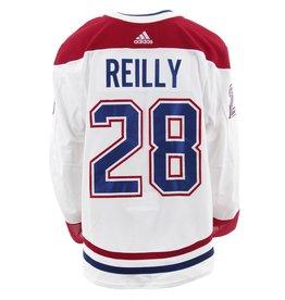 Club De Hockey Chandail porté 2017-2018 #28 mike reilly série 3 àl'étranger