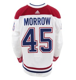 Club De Hockey 2017-2018 #45 Joe Morrow Away Set 2 Game-Used Jersey