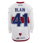 Club De Hockey 2017-2018 Luc-Olivier Blain Game-Used Jersey