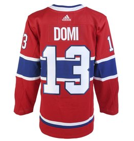 Adidas Max Domi Authentic Pro Heat Press Jersey