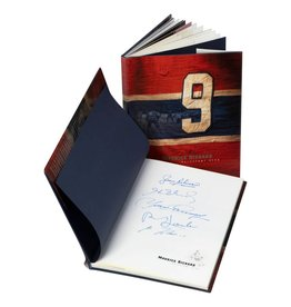 Club De Hockey Maurice Richard Book Signed By 5 Players