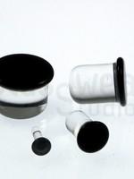 2G-6mm SF Glass Plugs