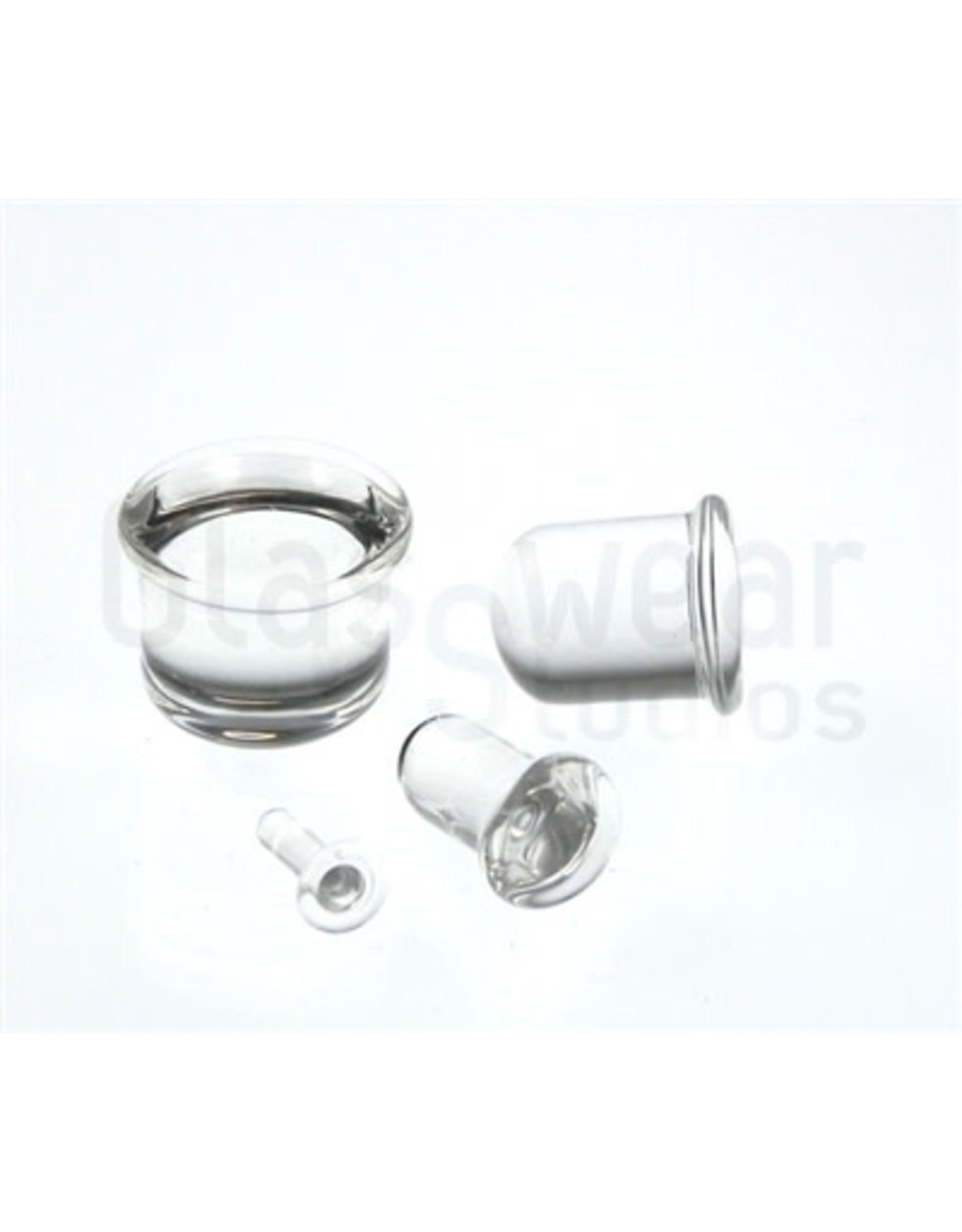 0g-8mm SF Glass Plugs