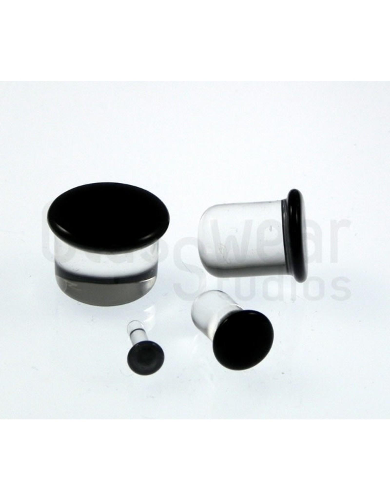 "7/16""-11mm SF Glass Plugs"