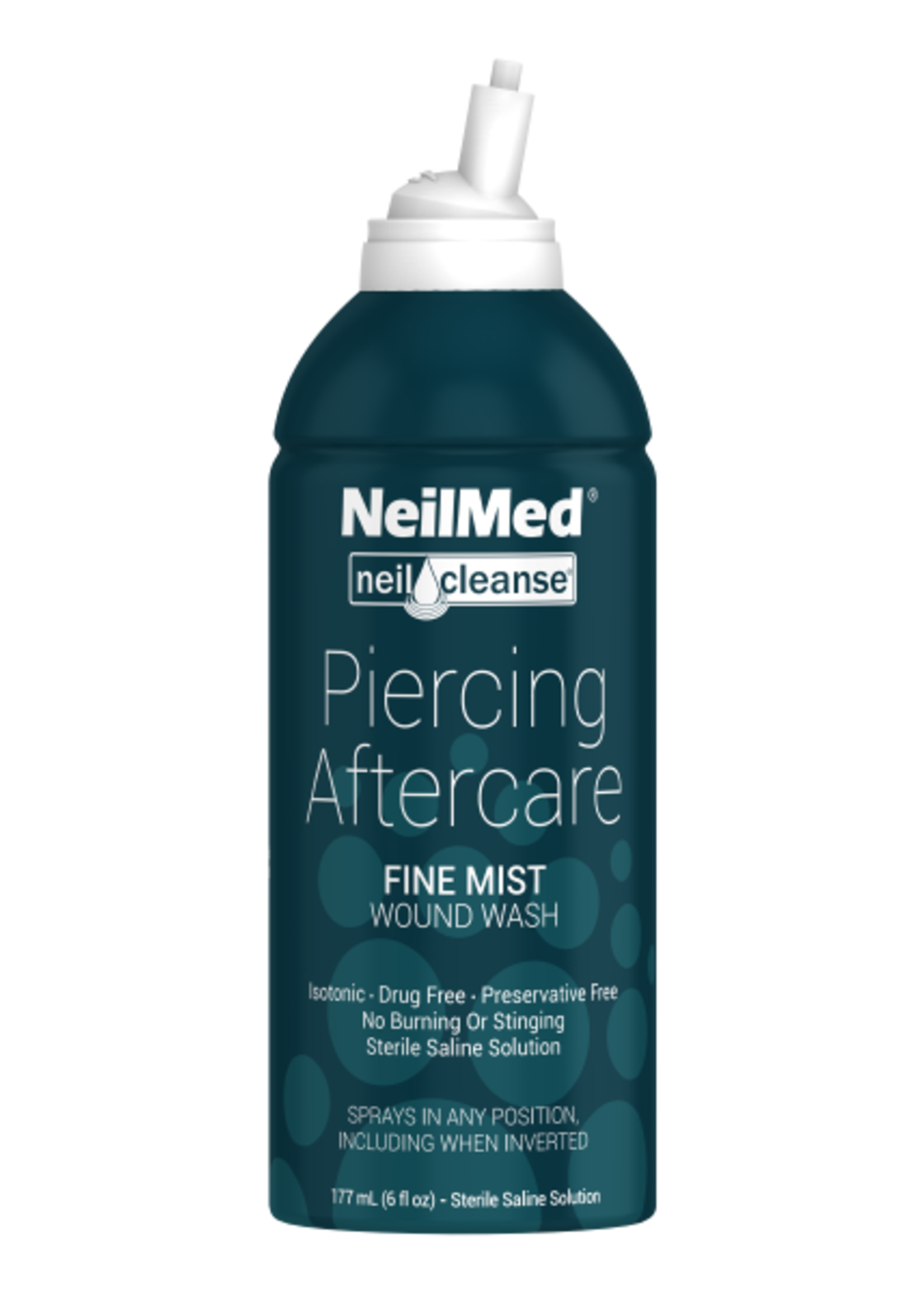 2.5 oz. TRAVEL SIZE  SALINE PIERCING SPRAY