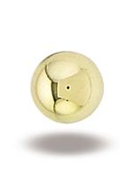14k YG 2mm Ball End
