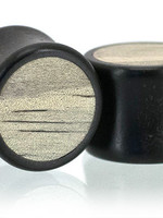 "11/16"" Two Wood Inlay Plugs"