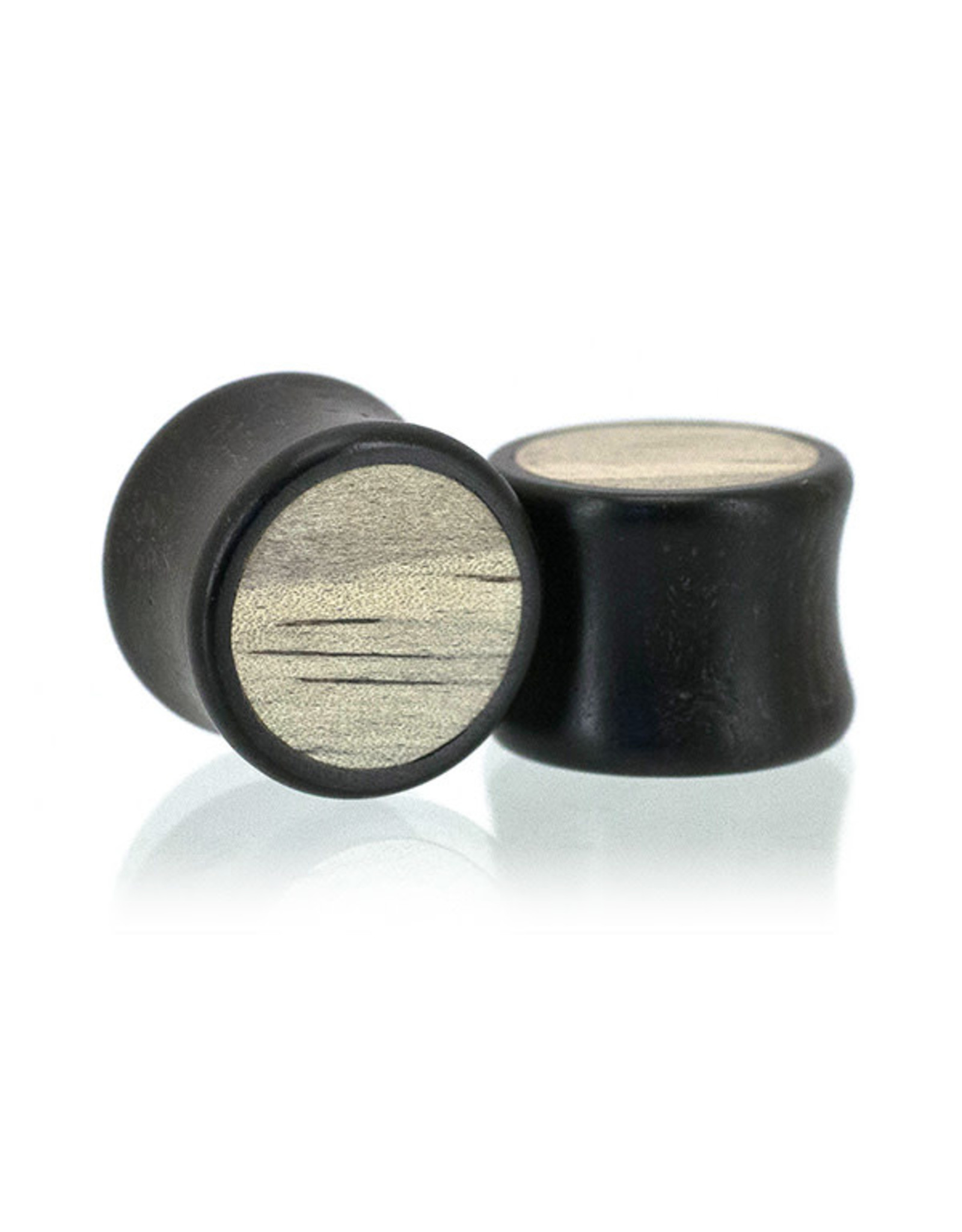 "11/16"" Two Wood Inlay Plugs"