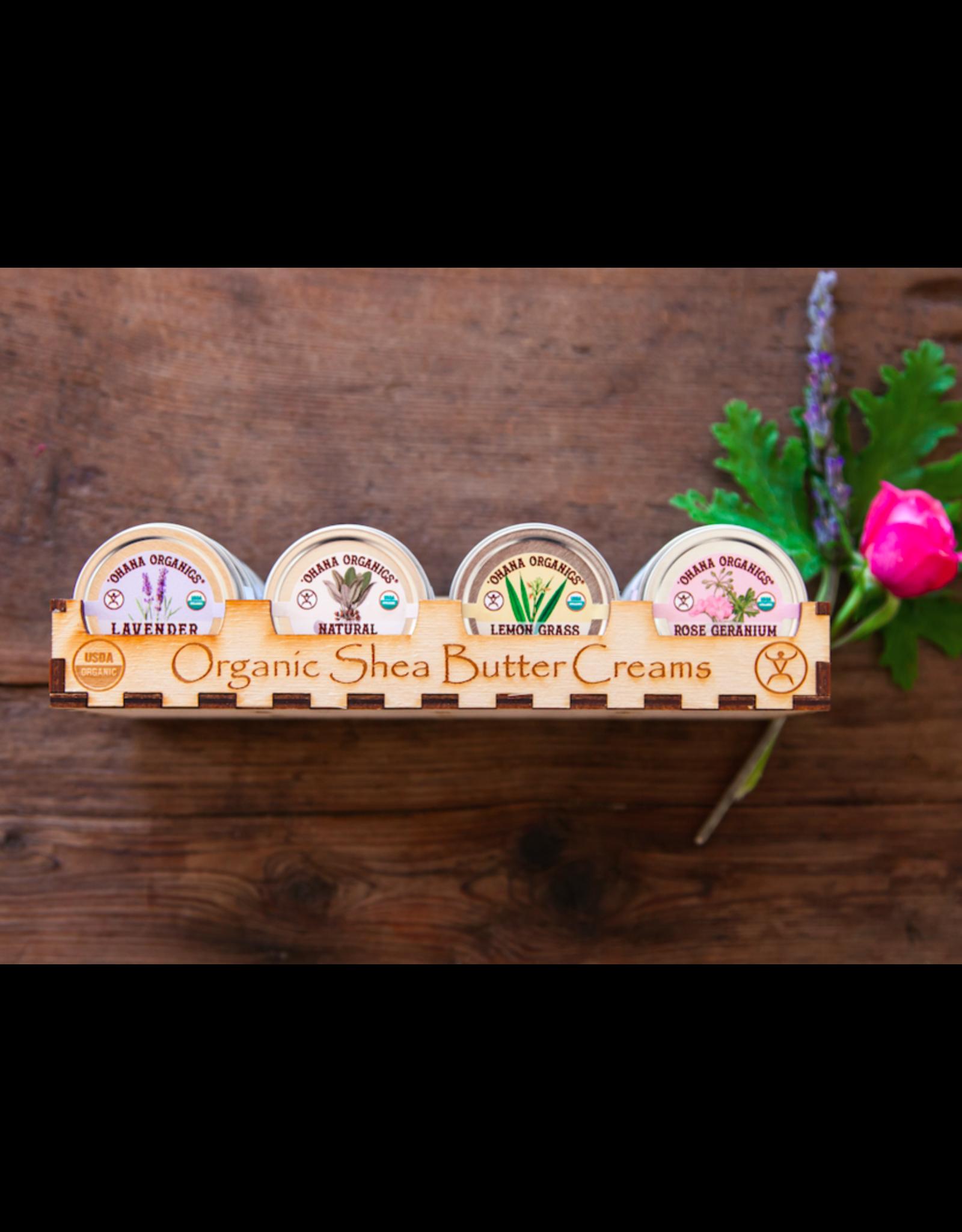 Lemon Grass Organic Shea Butter Cream - Travel Size