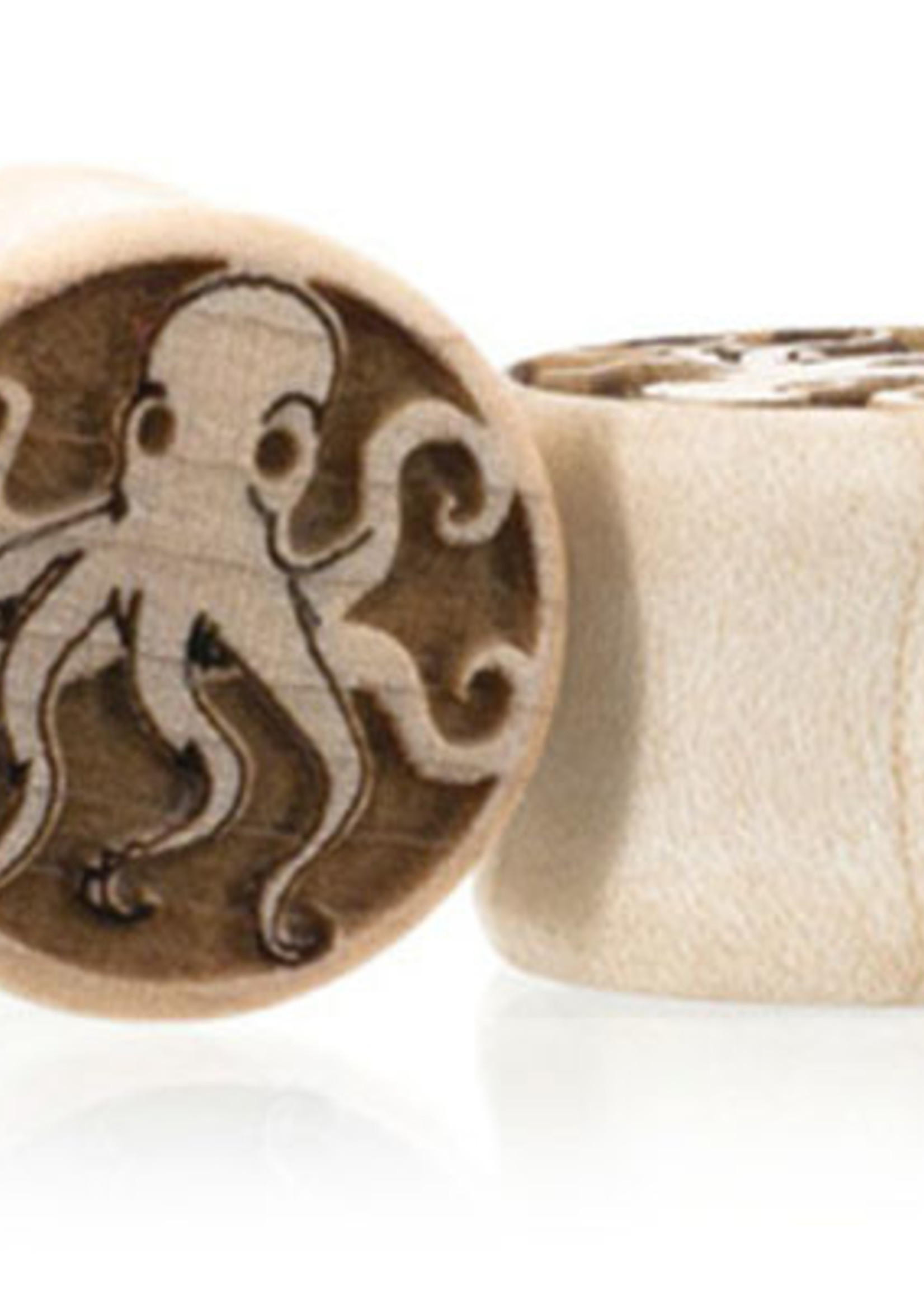 "1/2"" Octopi Wood Plugs"