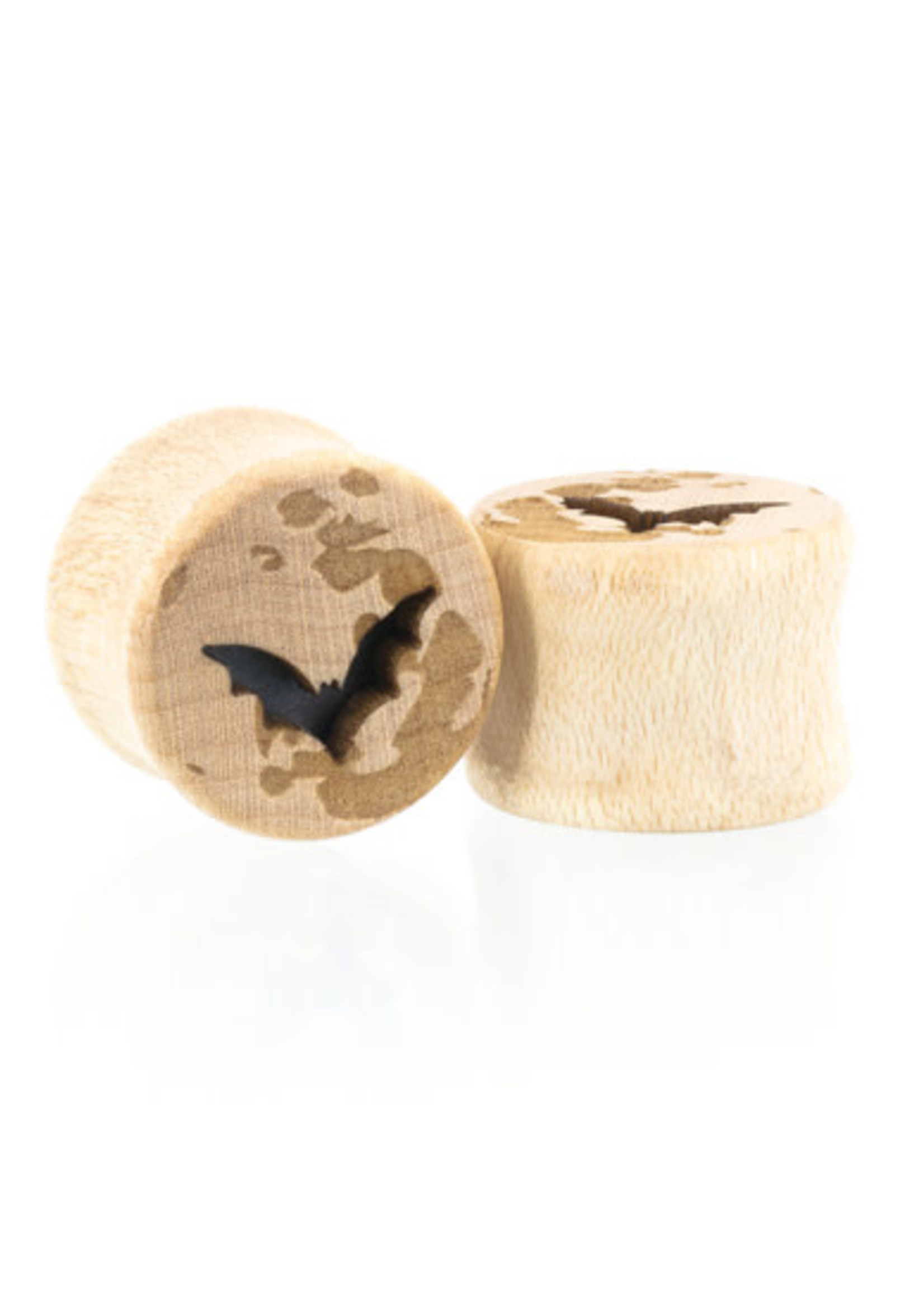 "1/2"" Moon Bat Plugs"