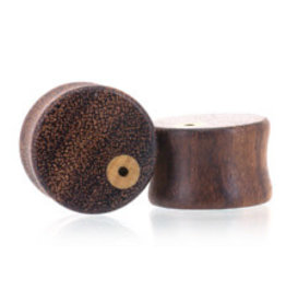 0g Earring Hole Wood Plugs