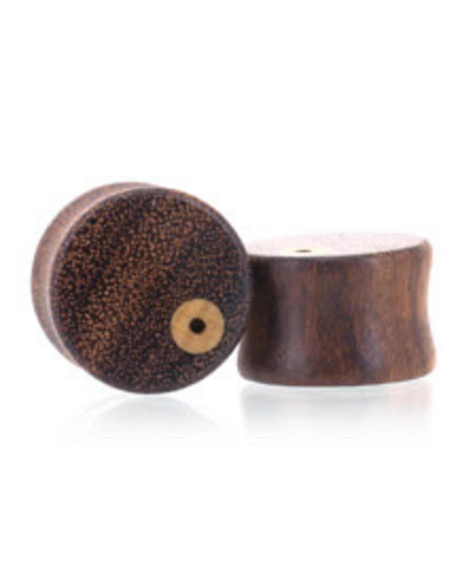 00g Earring Hole Wood Plugs