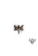 14k YG SM Dragonfly (3.5) Threadless Pin