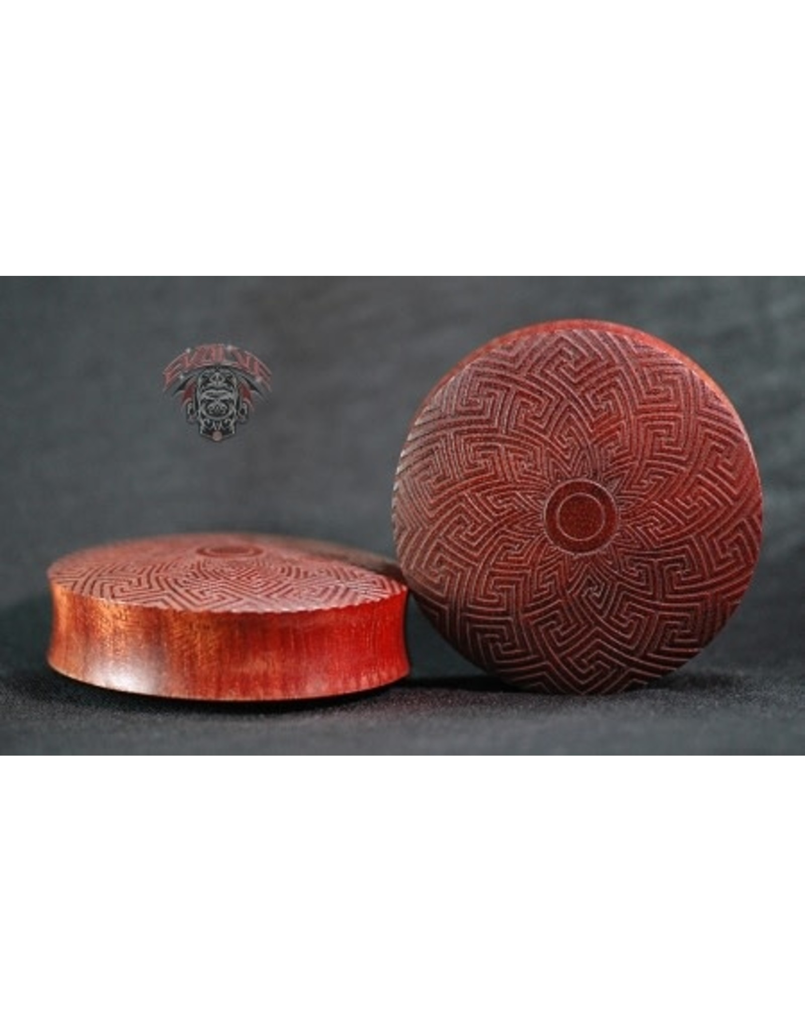 Evolve Laser Etched Wood Plugs