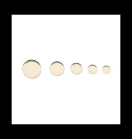 14k RG 3mm Disk End