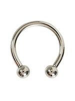 16g Titanium Internally Threaded Circular Barbell