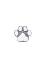 14k 4mm Flat Paw Threadless End