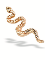 14k Snake Threadless End