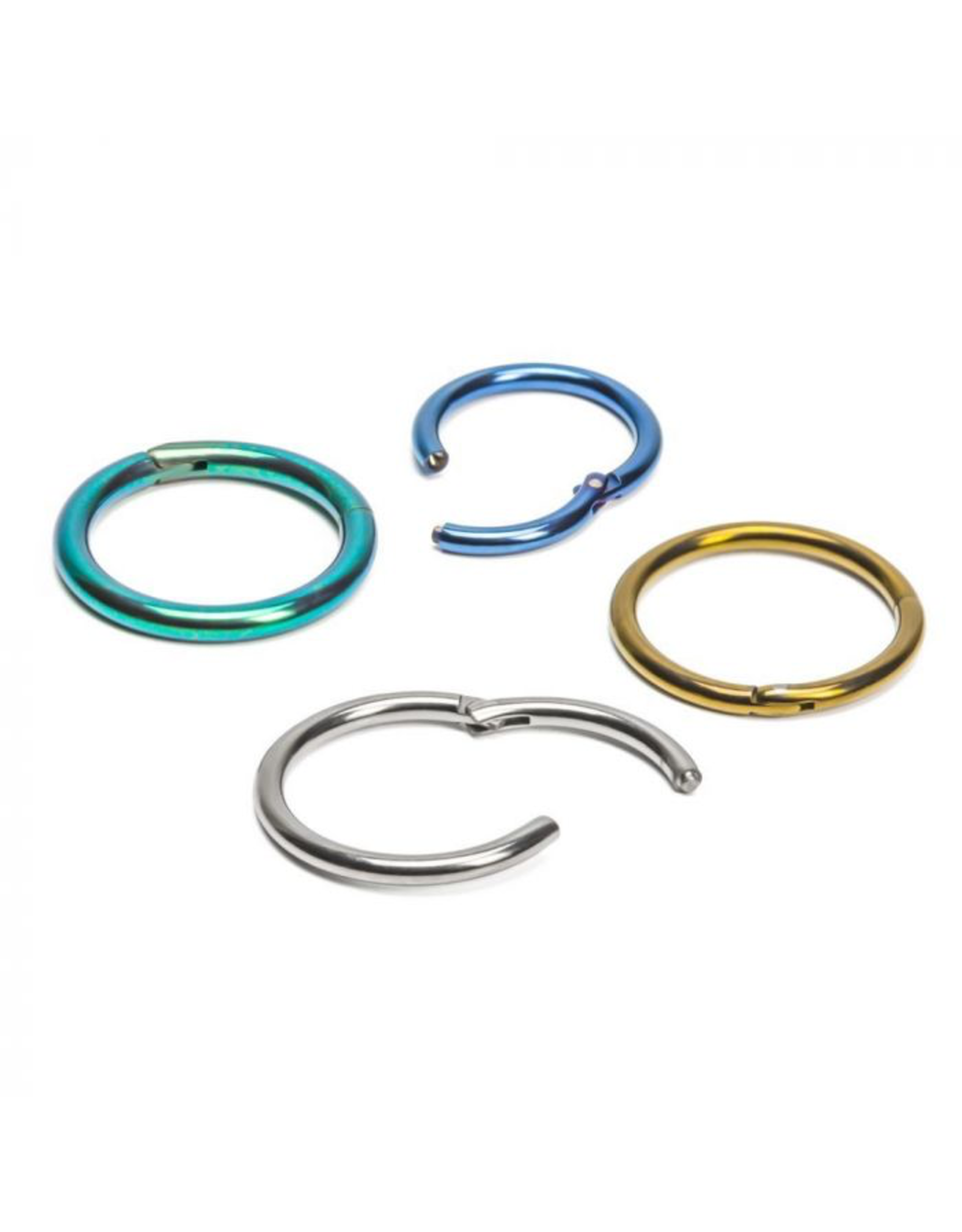 16g Titanium Hinged Rings