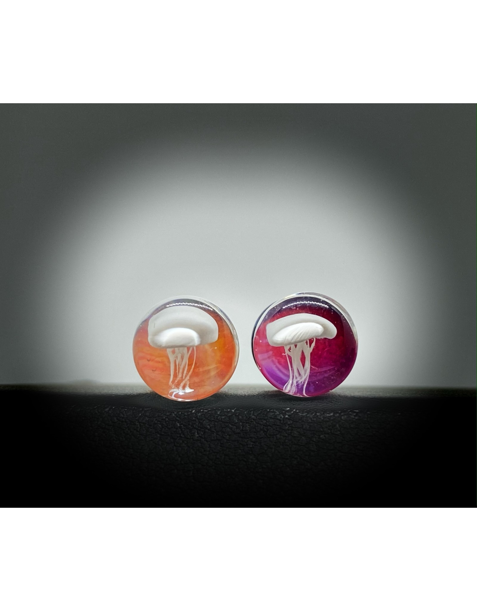 0g Glass Jellyfish Plugs