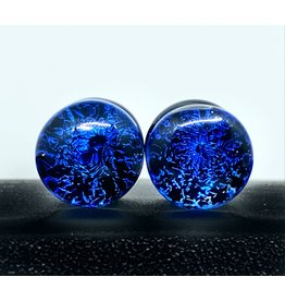 "7/16"" Glass Galaxy Plugs"