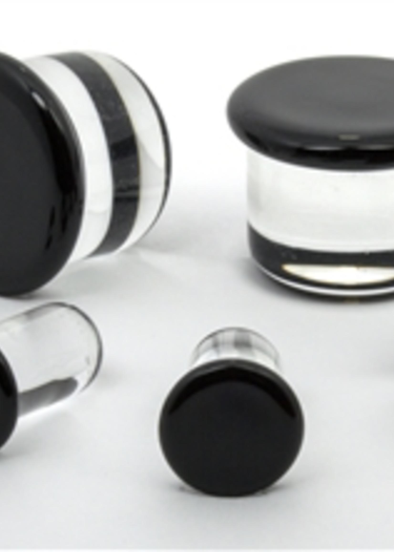 7.5mm Half Size SF Glass Plugs