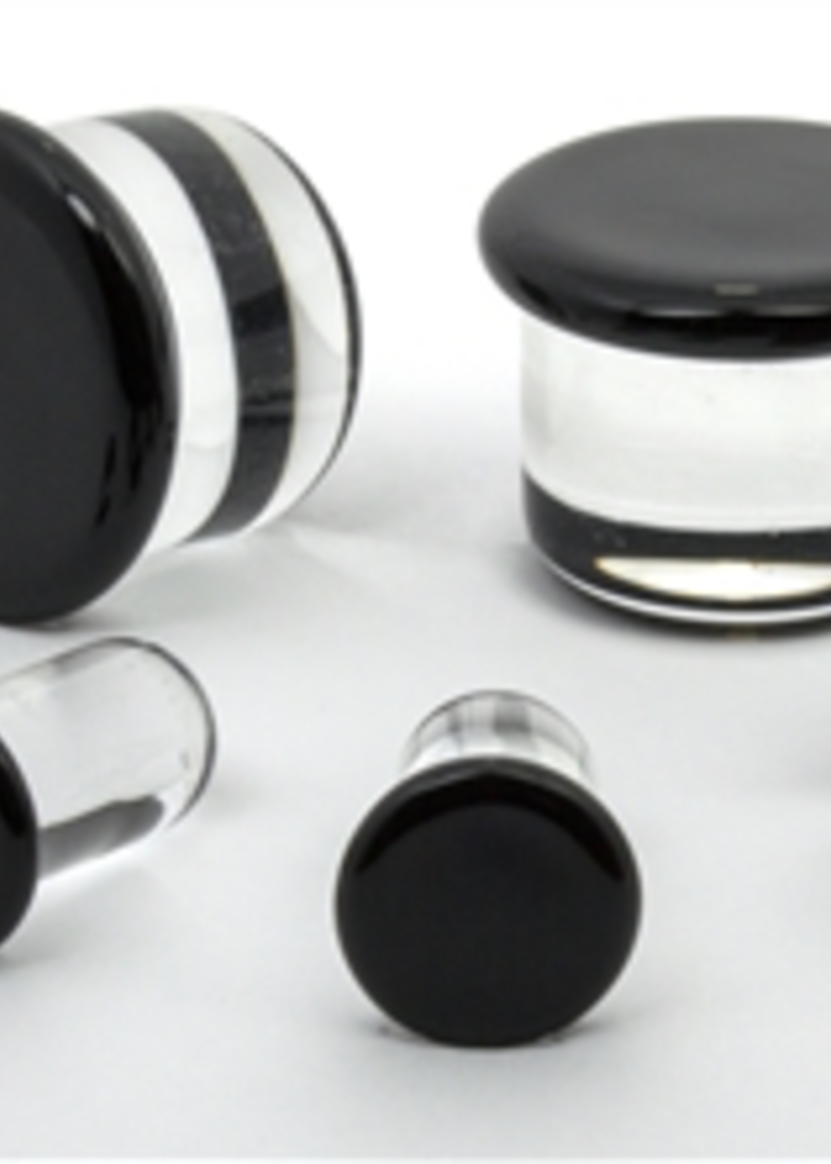 4.5mm Half Size SF Glass Plugs