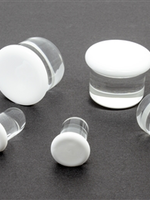 21mm Single Flare Glass Plugs