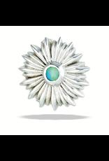 14k RG Sunflower 2mm (9mm) Threadless Pin